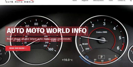 Auto Moto News Site